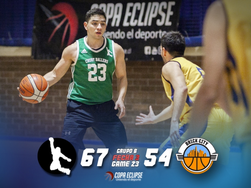 Chuby Ballers le quita el invicto a Brick City