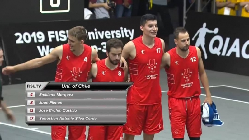 Chile hace historia en el Mundial Universitario 3x3 de China